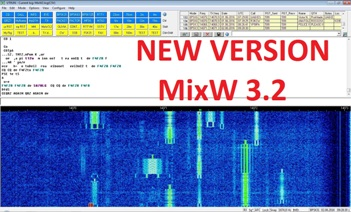 MixW - multimode software for radio amateurs